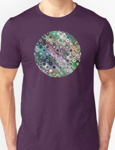 Colorful Graphic Rings Unisex T-Shirt