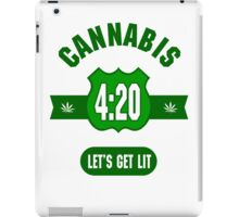 Cannabis 420 iPad Case/Skin