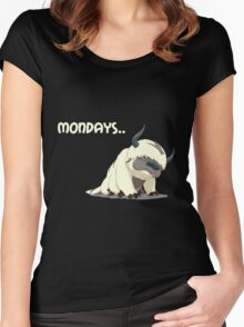 Appa on Mondays V2 Women's Fitted Scoop T-Shirt
