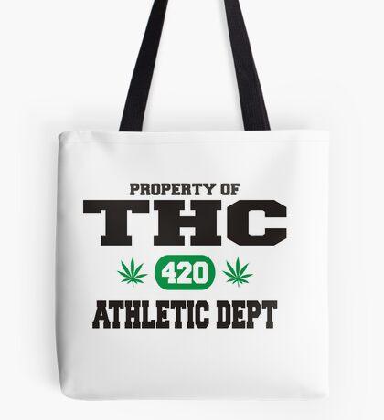 Marijuana THC Athletic Dept Tote Bag