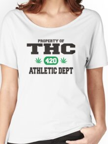 Marijuana THC Athletic Dept Women's Relaxed Fit T-Shirt