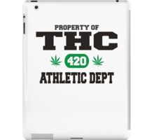 Marijuana THC Athletic Dept iPad Case/Skin