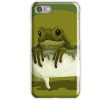 Toad in a Tub iPhone Case/Skin