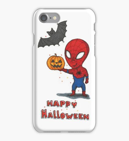 Spider-Halloween iPhone Case/Skin