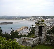 Folly View from St Michaels Mount by evissaboutique