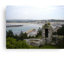 Folly View from St Michaels Mount Canvas Print