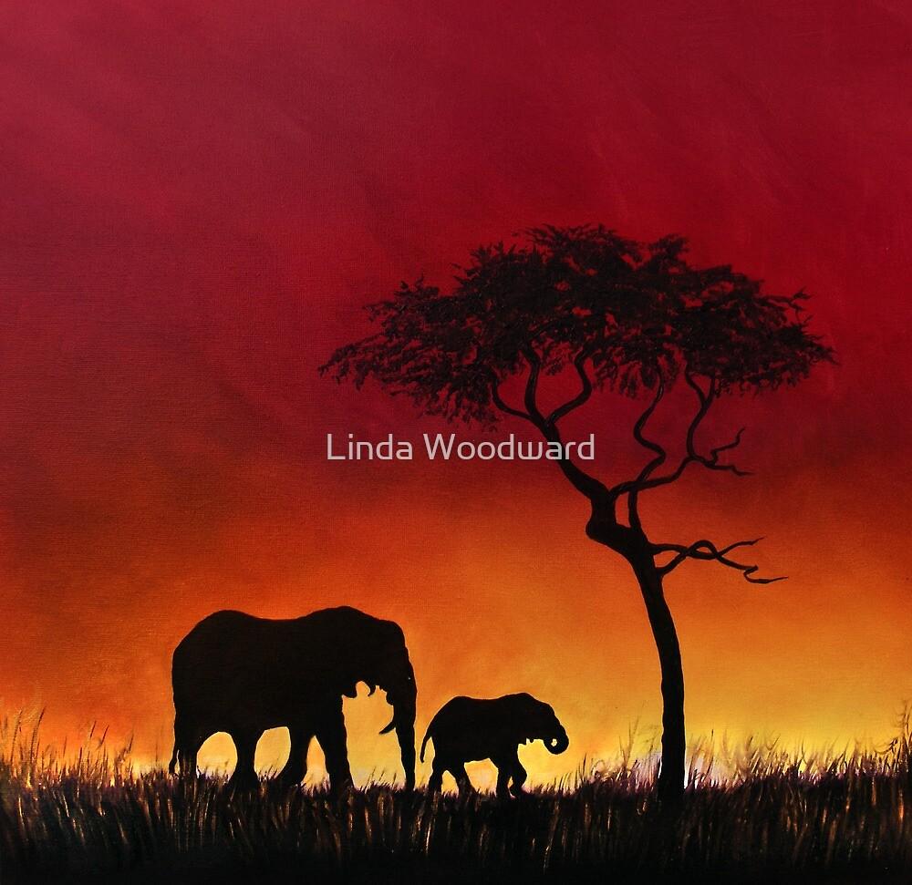 Sunset Stroll! by Linda Woodward