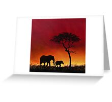 Sunset Stroll! Greeting Card