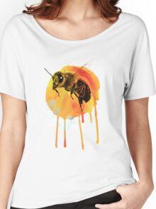 Honey bee watercolour Women's Relaxed Fit T-Shirt