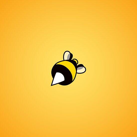 Stinging Bee Orange by Boriana Giormova