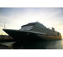 OOSTERDAM HOLLAND AMERICA Photographic Print