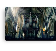 Organ at Exeter Cathedral Canvas Print