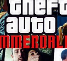 Grand Theft Auto Emmerdale Sticker