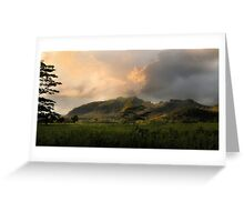 The Valley of Light Greeting Card