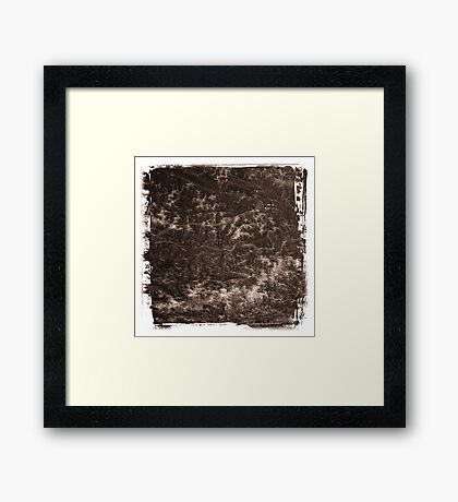 The Atlas of Dreams - Plate 20 Framed Print