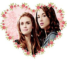 Hearted Allydia Photographic Print
