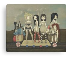 The Princess Train Canvas Print