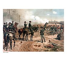 The Siege Of Atlanta -- Civil War  Photographic Print
