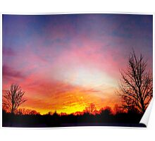 Winter Sunrise Poster
