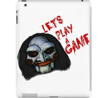 Let's play a game iPad Case/Skin