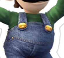 Luigi-Mario Sticker