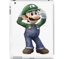 Luigi-Mario iPad Case/Skin