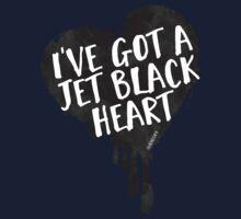 Jet Black Heart Kids Tee