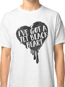 Jet Black Heart Classic T-Shirt