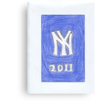 Yankees New Year Canvas Print