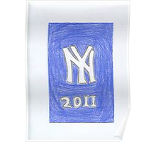 Yankees New Year Poster