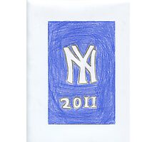 Yankees New Year Photographic Print