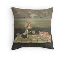 A Most Gracious outing Throw Pillow