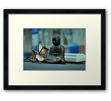 Buddha of  the traveler  Framed Print