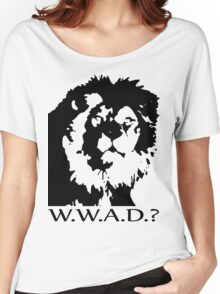 W.W.A.D.? Women's Relaxed Fit T-Shirt