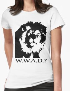W.W.A.D.? Womens Fitted T-Shirt