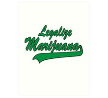Legalize It Art Print