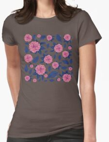 Flowers for my Love Womens Fitted T-Shirt