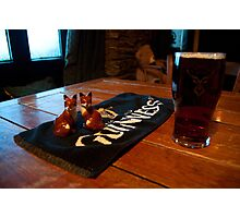 Foxy beer..! Photographic Print