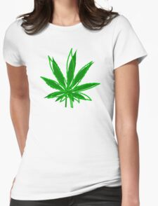 Abstract Cannabis Leaf T-Shirt