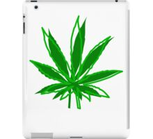 Abstract Cannabis Leaf iPad Case/Skin