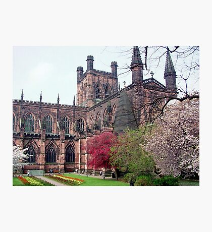 Chester Cathedral in Springtime Photographic Print