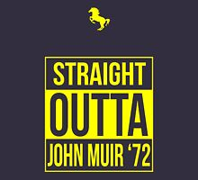 Straight Outta John Muir '72 Dark Blue Unisex T-Shirt