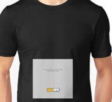 Cigarro abandonado Unisex T-Shirt