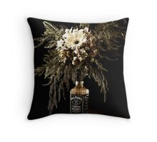Addicted - Vintage Throw Pillow