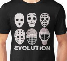 Hockey Goalie Mask Evolution Unisex T-Shirt