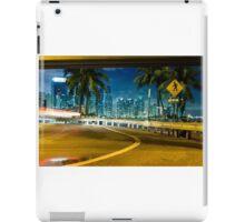 Miami downtown  iPad Case/Skin