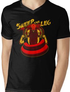 Sweep the Leg Mens V-Neck T-Shirt