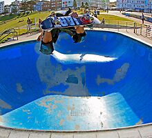 Big Air - Bondi Bowl by Mick Duck