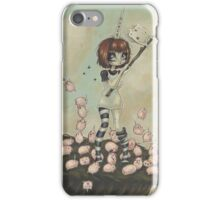 Dances with Lemmings iPhone Case/Skin