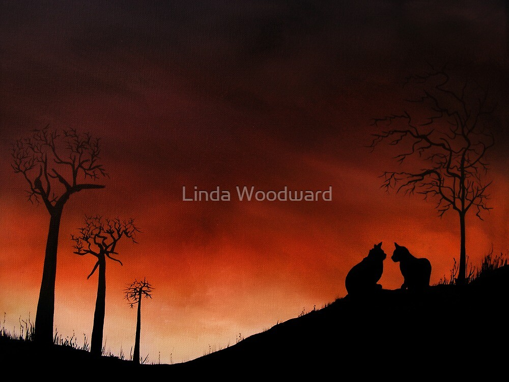 Purrfect Moment by Linda Woodward